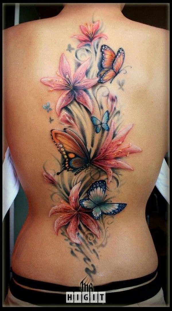 72c786d48 35 Pretty Lily Flower Tattoo Designs - For Creative Juice