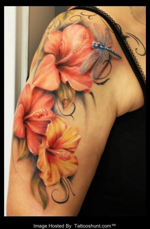 Lily Flower Tattoo. via forcreativejuice.com