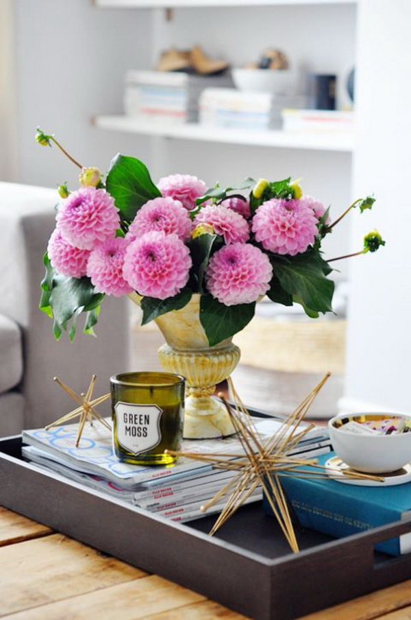 30+ Living Room Decoration With Flowers And Vases. (via  Forcreativejuice.com) Part 33