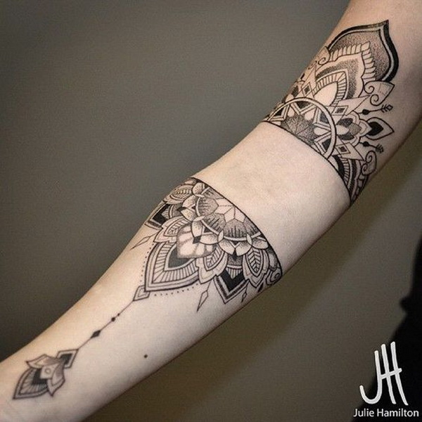 Mandala Sleeve Tattoo. www. http://forcreativejuice.com/cool-sleeve-tattoo-designs/