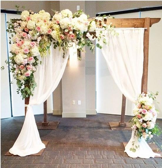 Floral Wedding Arch Decor.