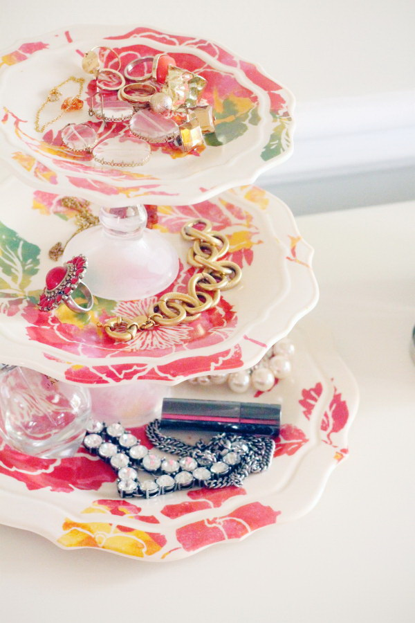 DIY Jewelry Tray.
