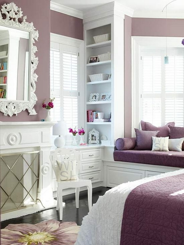 40+ Beautiful Teenage Girls\' Bedroom Designs - For Creative Juice