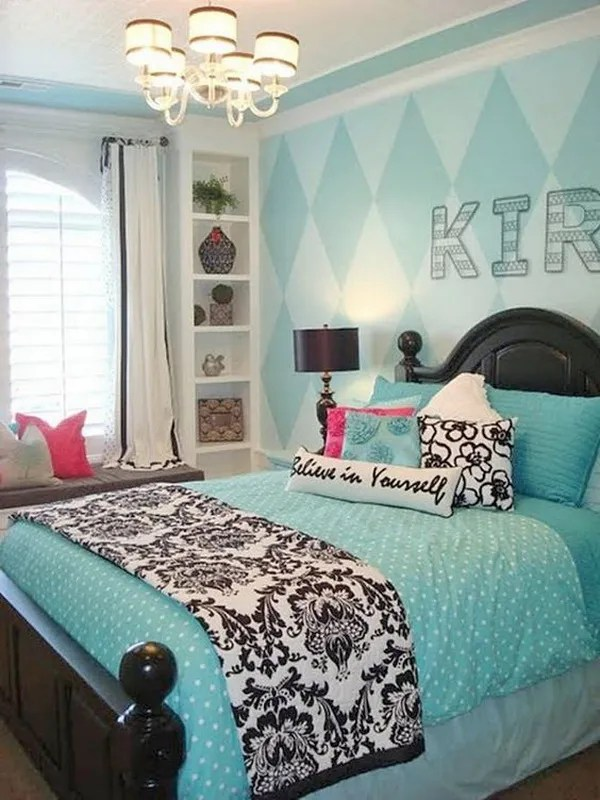 40+ Beautiful Teenage Girls' Bedroom Designs - For ... on Beautiful Rooms For Teenage Girls  id=53802