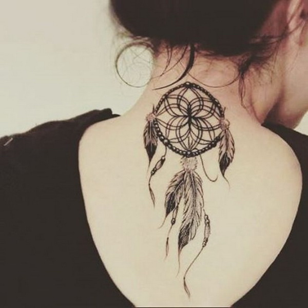 55+ Attractive Back of Neck Tattoo Designs , For Creative Juice