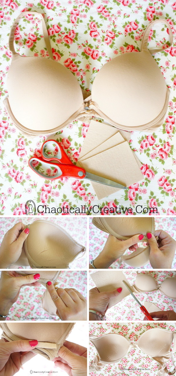 How To Repair An Underwire Bra: Follow this trick to fix a broken underwire bra and extend the life of your favorite bra just a little bit longer.