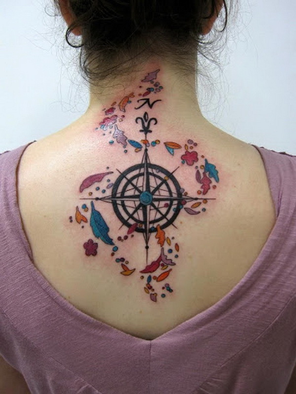 20 Awesome Compass Tattoo Ideas For Creative Juice