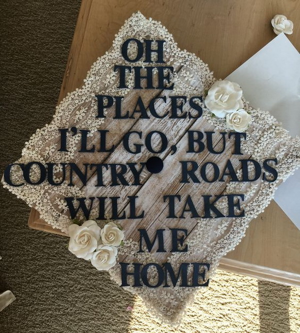 Country Graduation Cap.