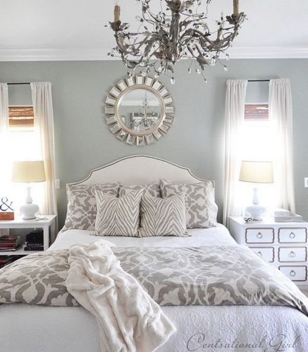 Grey Master Bedroom: Master Bedroom Paint Color Ideas: Day 1-Gray