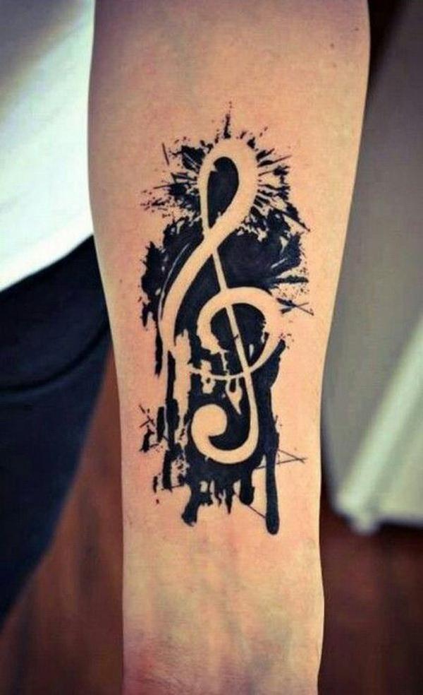 Music Sleeve Tattoo for Men.