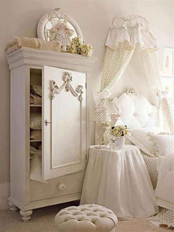 30 cool shabby chic bedroom decorating ideas for. Black Bedroom Furniture Sets. Home Design Ideas