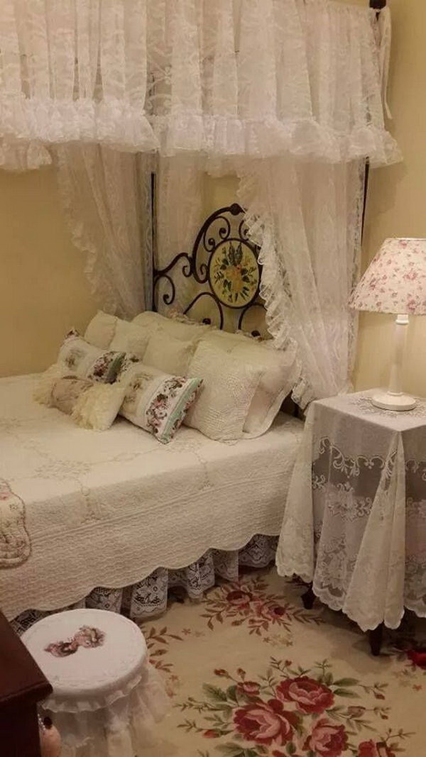 Fairy Tale Like Shabby Chic Bedroom