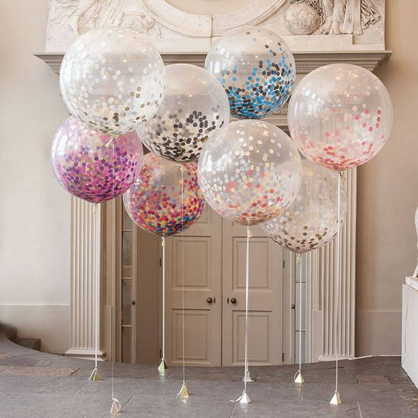 Giant Confetti Filled Balloon.