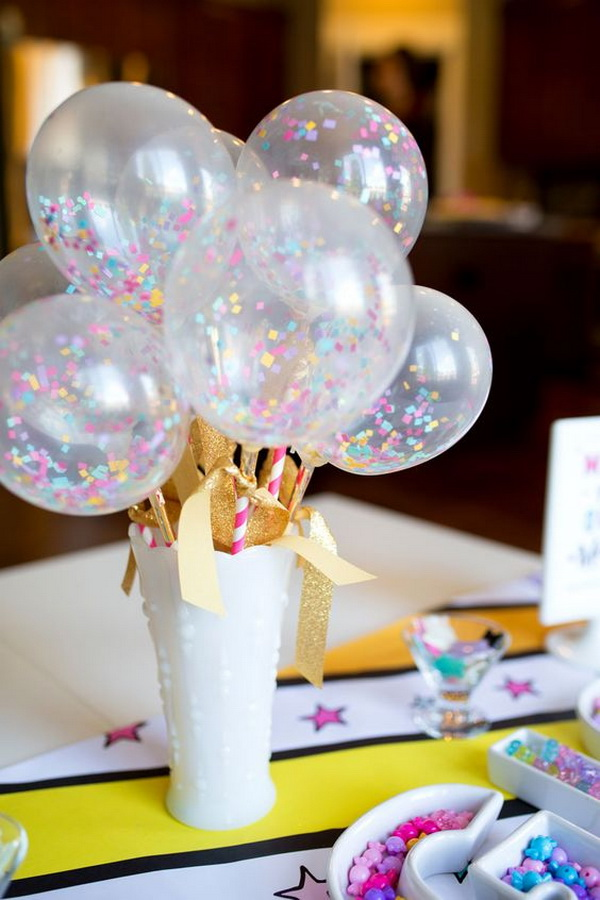 50 pretty balloon decoration ideas for creative juice for Balloon decoration designs