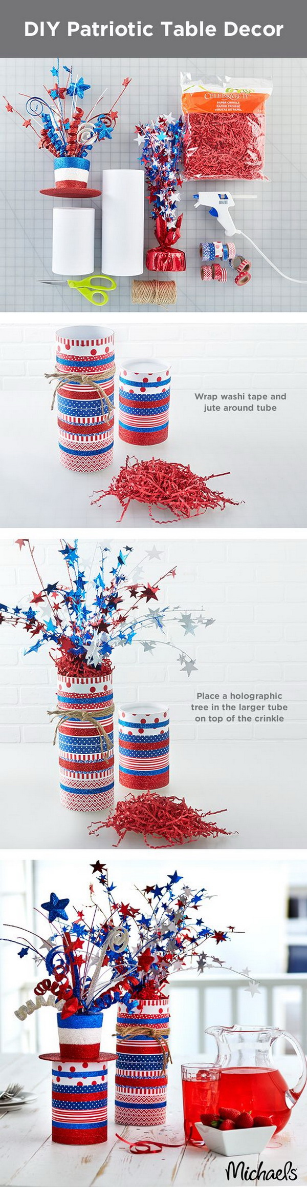 Washi Tape firecrackers.