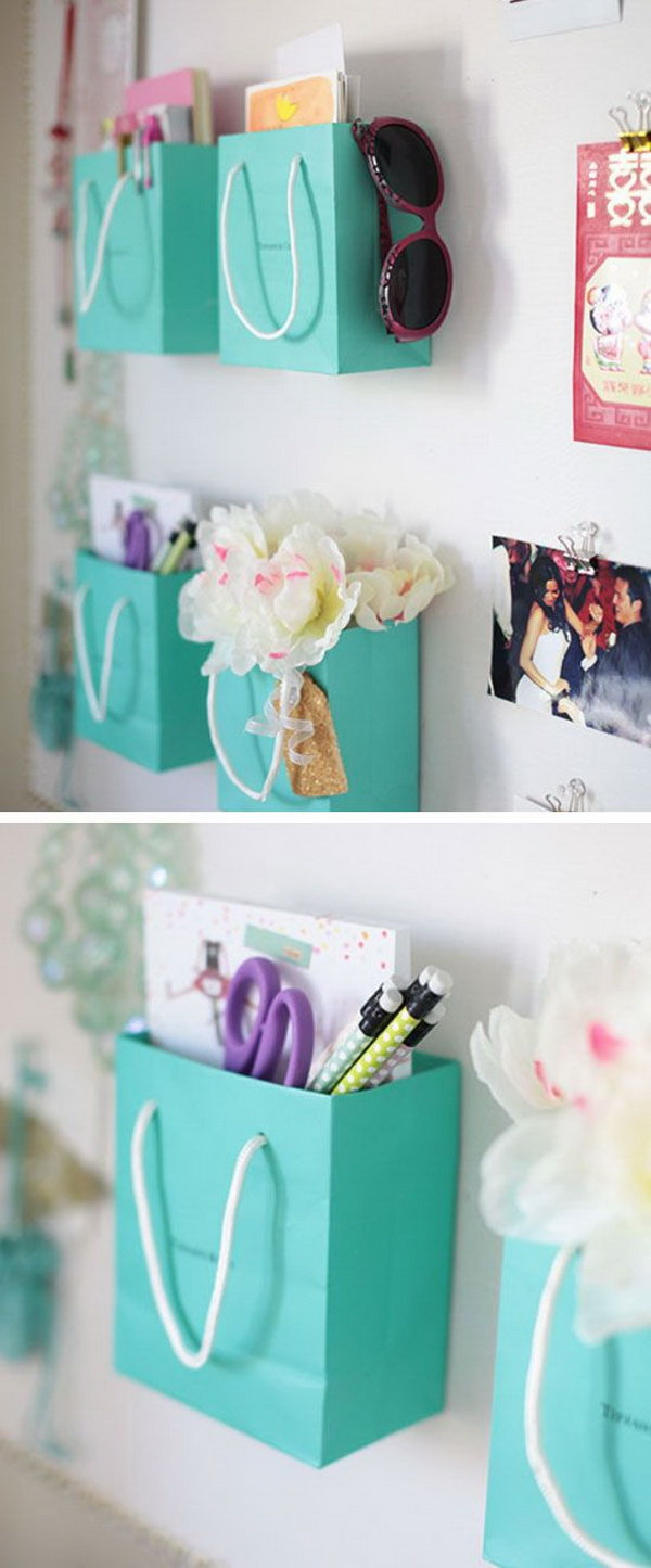 Shopping Bag Supply Holders: Instead Of Throwing Away, You Can Repurpose  Those Really Cute
