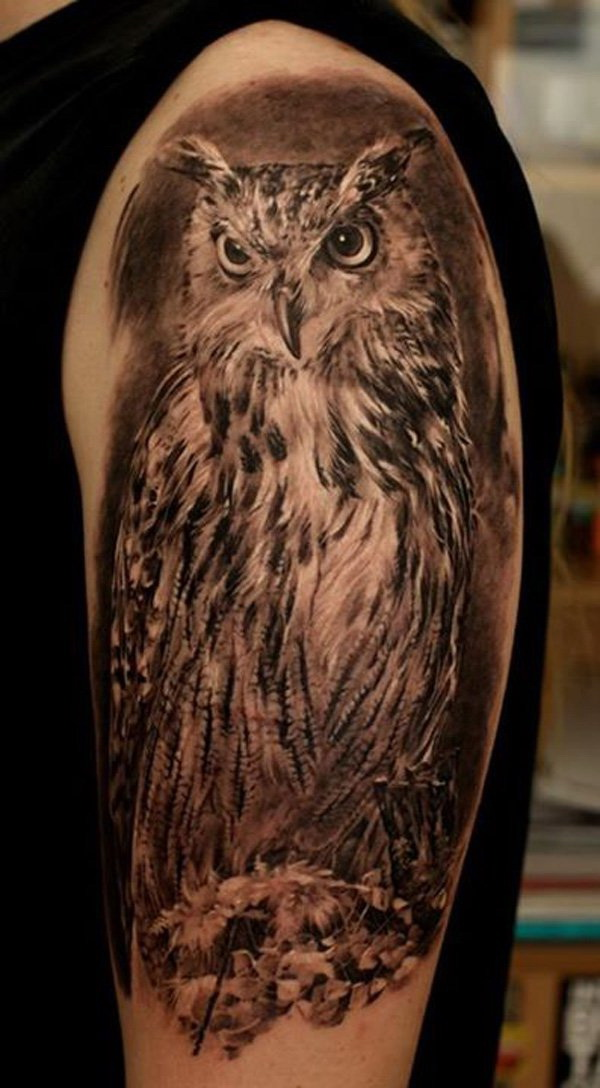 More via https://forcreativejuice.com/attractive-owl-tattoo-ideas/