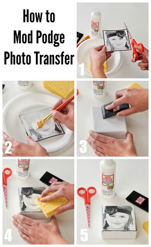 28 Creative Handmade Photo Crafts With Tutorials For