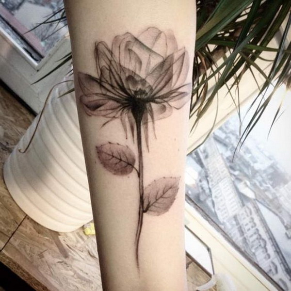 X-ray Rose Tattoo.