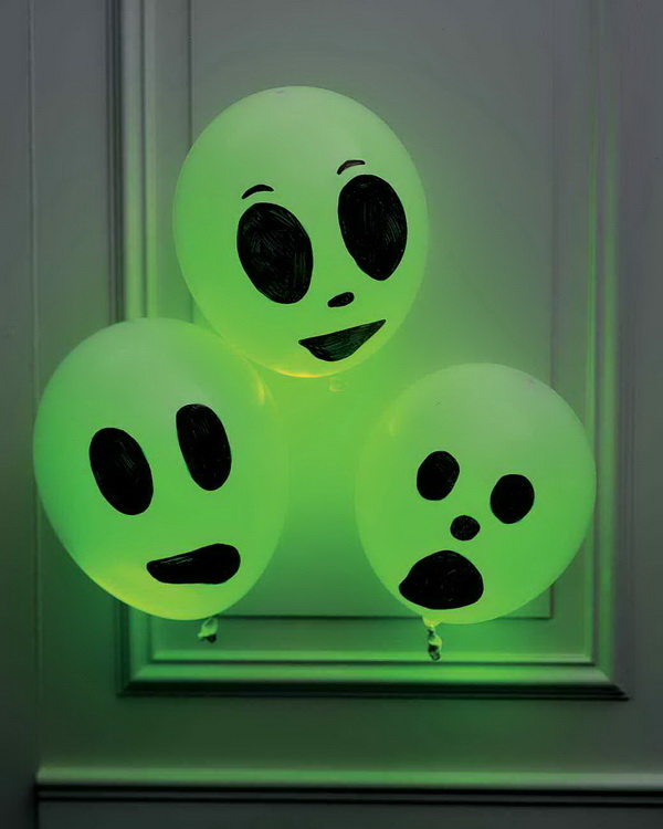 Bright Glow Stick Ghosts.