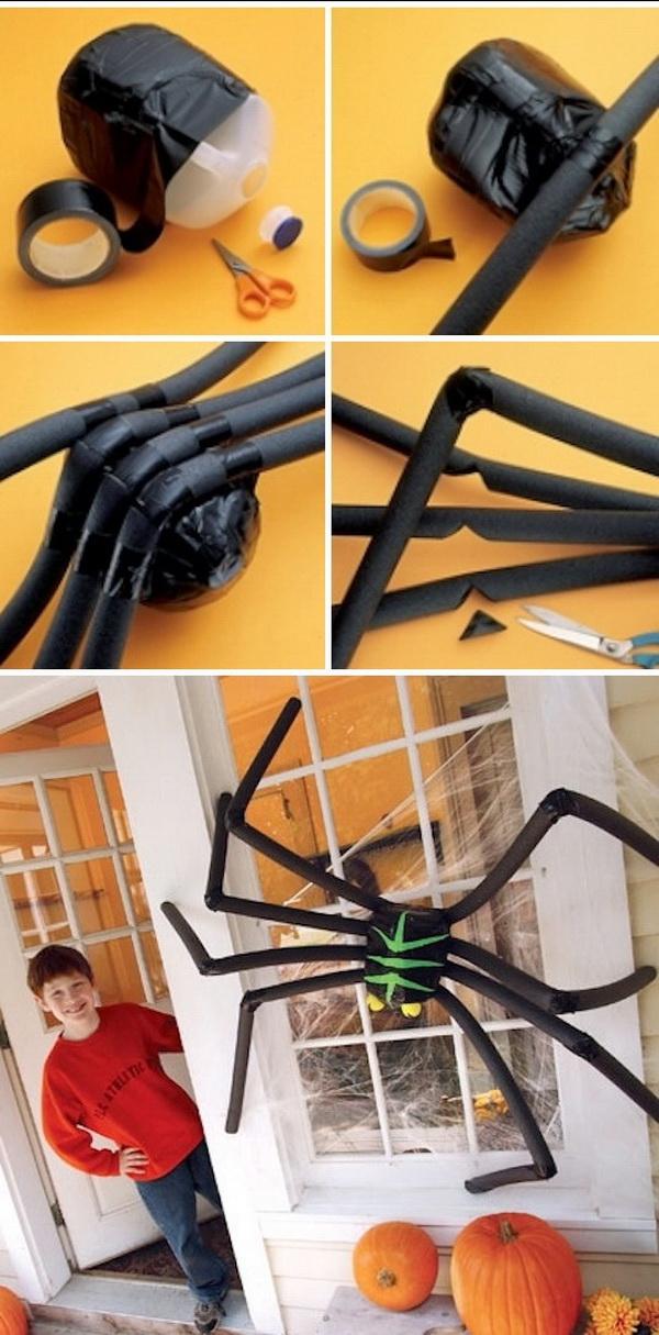 diy huge halloween spider