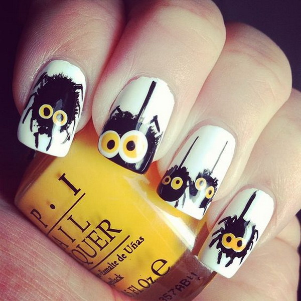 Nail Designs for Halloween. Halloween Nail Art Ideas.