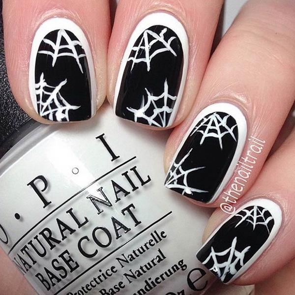 Halloween Nail Art Ideas.