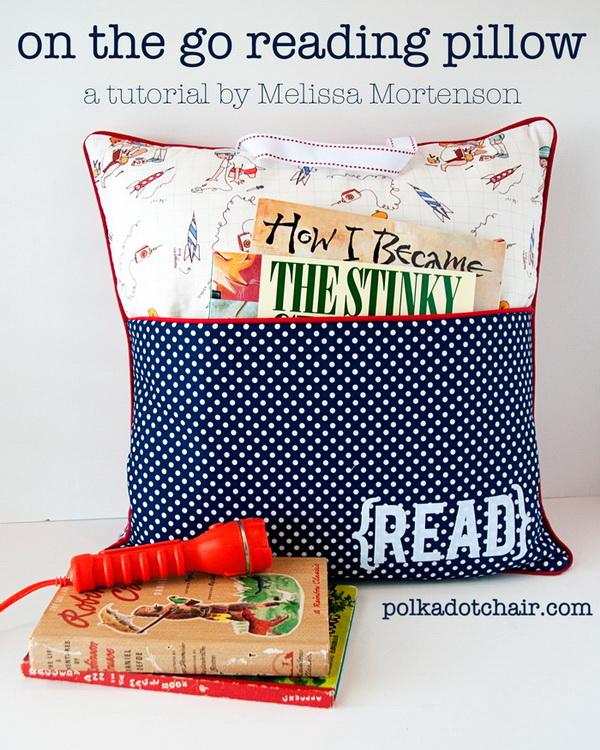 Pocket Pillow Sewing Pattern.