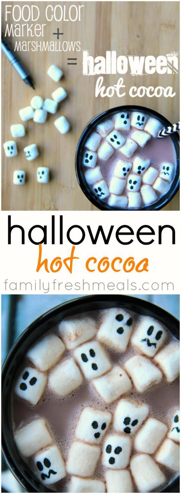Halloween Hot Cocoa.
