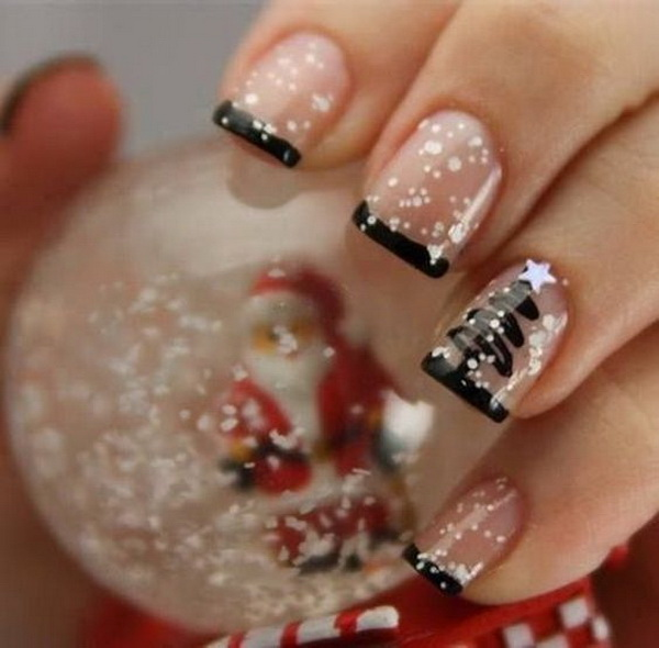 Christmas Nail art Designs and Ideas.
