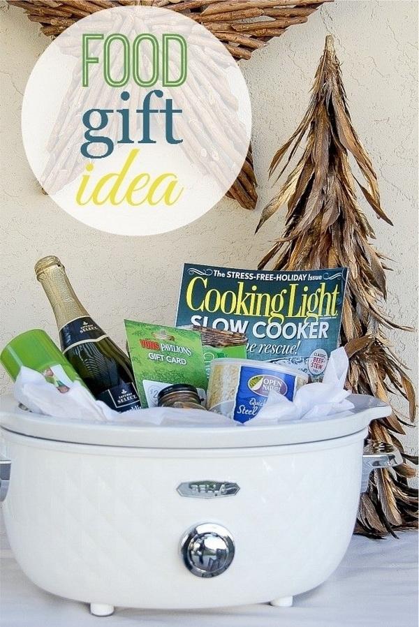 Food Gift Basket.