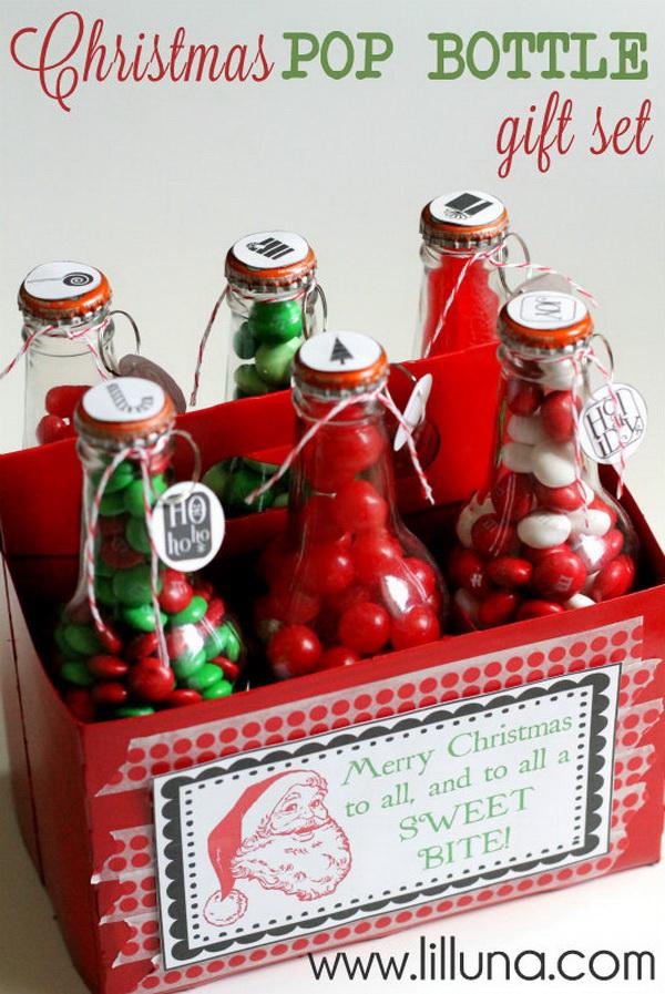Christmas Pop Bottle Gift Set.