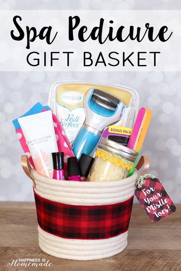 Lemon Lime Coconut Scrub + Gift Basket.