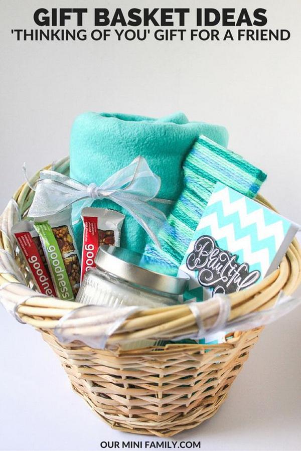 'Thinking Of You' Gift Basket.