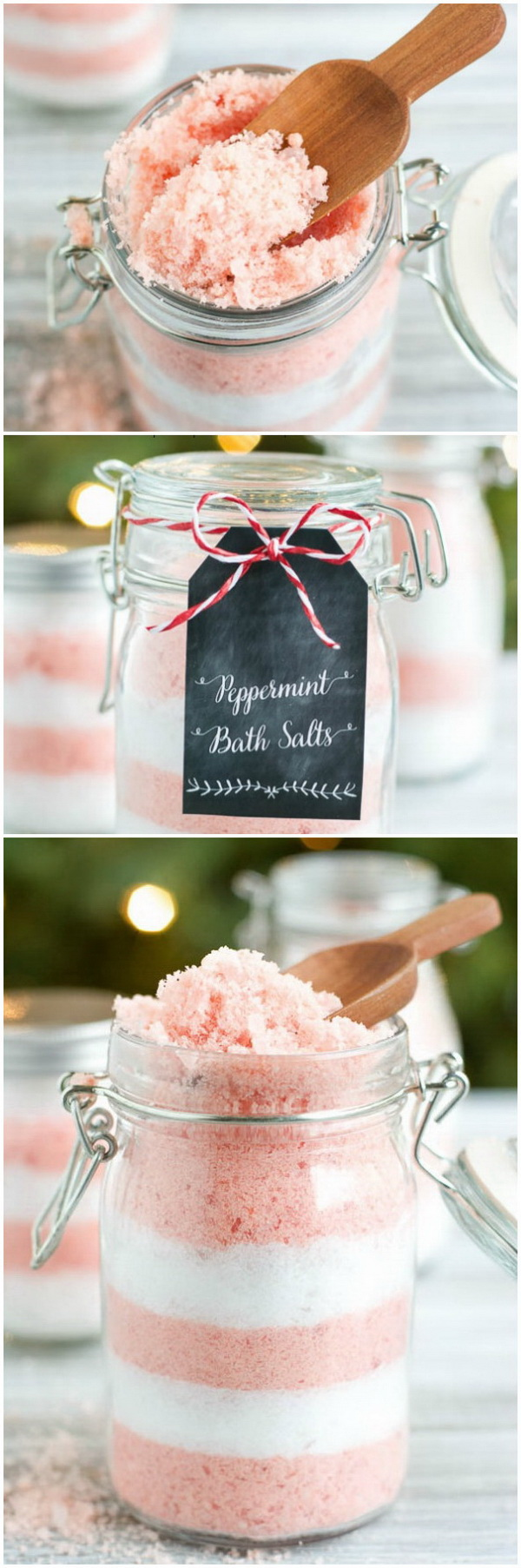 diy peppermint bath salts homemade peppermint bath salts make a wonderful christmas gift for friends