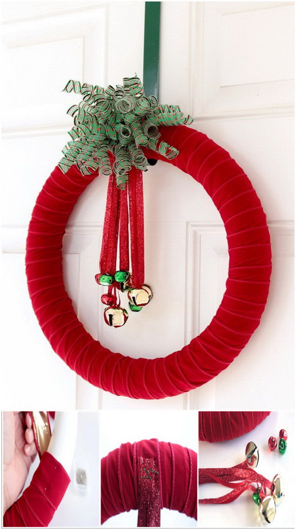 30 Festive Diy Christmas Wreaths With Lots Of Tutorials For