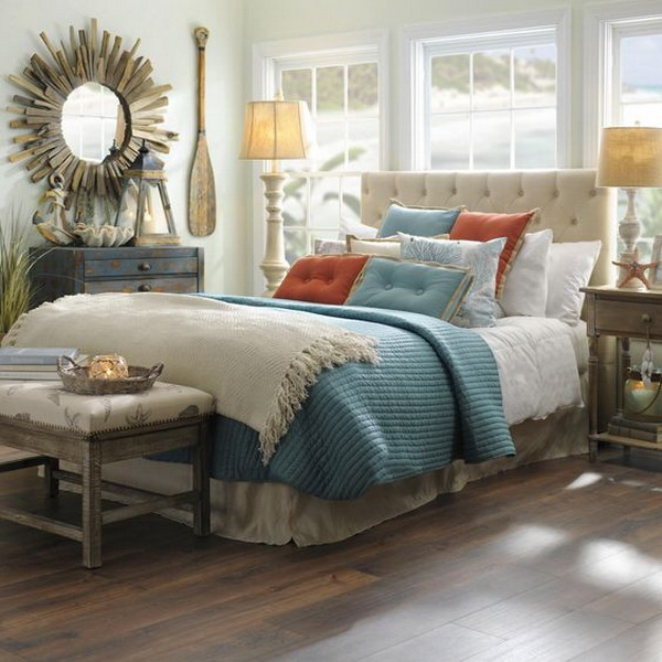 fabulous coastal bedroom design | Coastal Bedroom Design and Decoration Ideas - For Creative ...