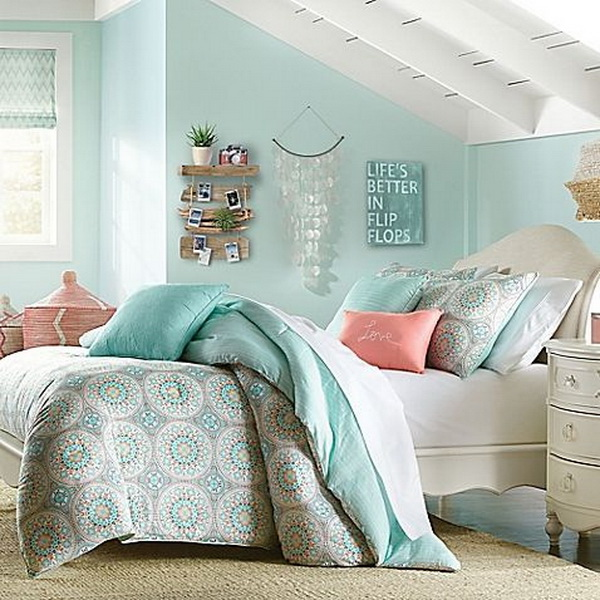 Nautical Style Teen And Bedrooms: Coastal Bedroom Design And Decoration Ideas