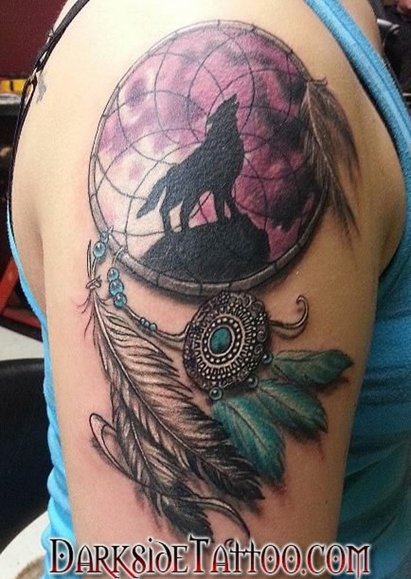 Horse Dreamcatcher Tattoo : horse, dreamcatcher, tattoo, Dreamcatcher, Tattoo, Design, Ideas, Creative, Juice