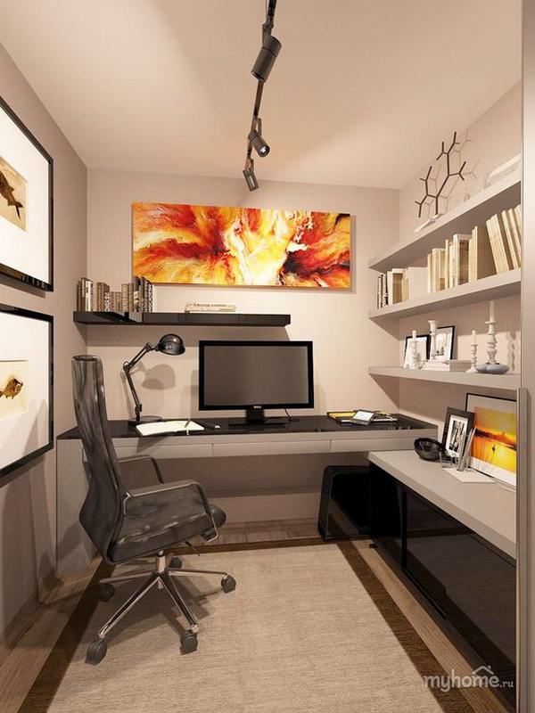 Inspirational Home Office Design & Decoration Ideas - For Creative Juice