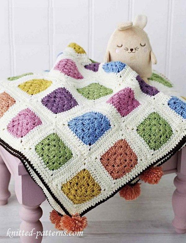 35+ Free Crochet Blanket Patterns & Tutorials - For Creative
