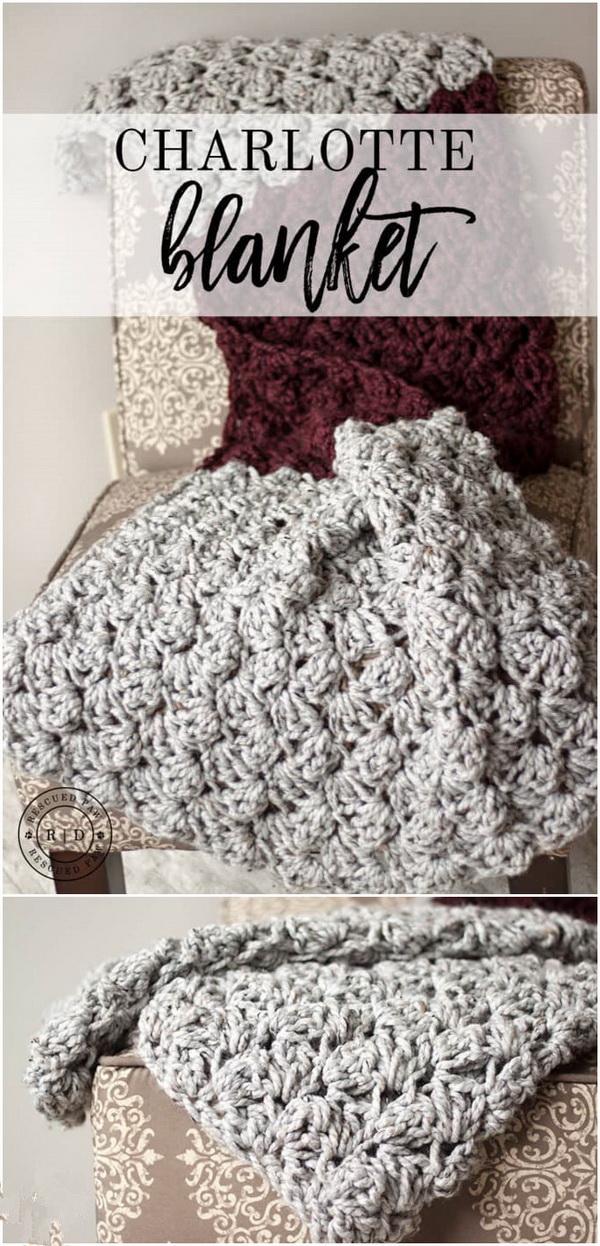 Charlotte Crochet Blanket.
