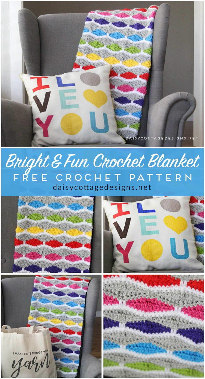 Crochet Blanket Pattern.