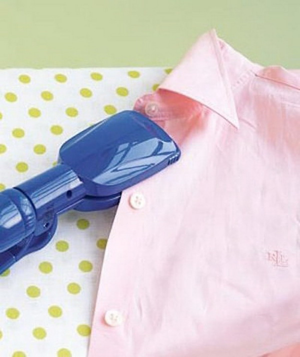 Genius Sewing Tips & Tricks: Press Buttons Using Hair Straighteners.
