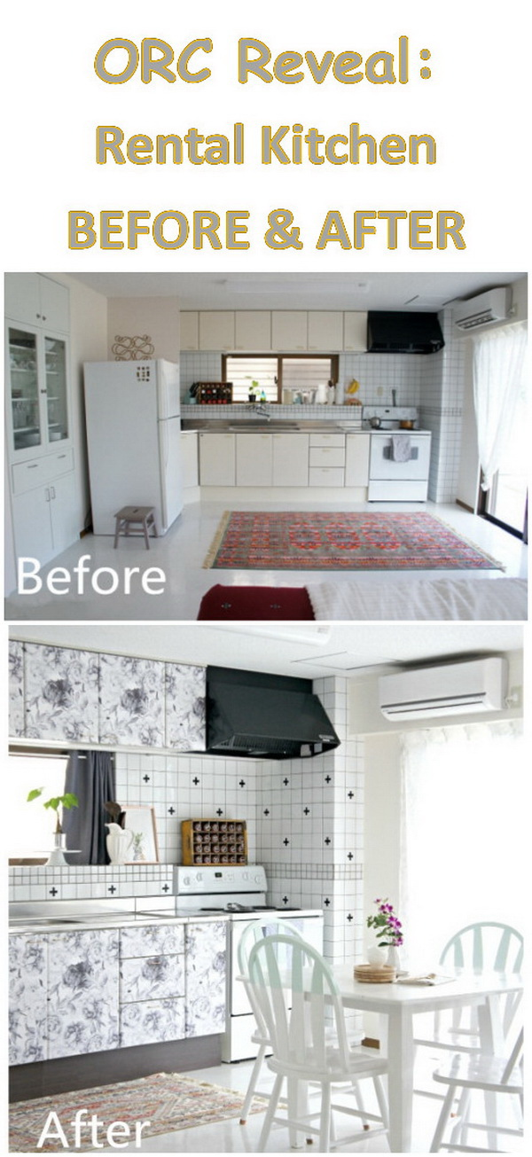 One Room Challenge: Rental Kitchen Reveal.