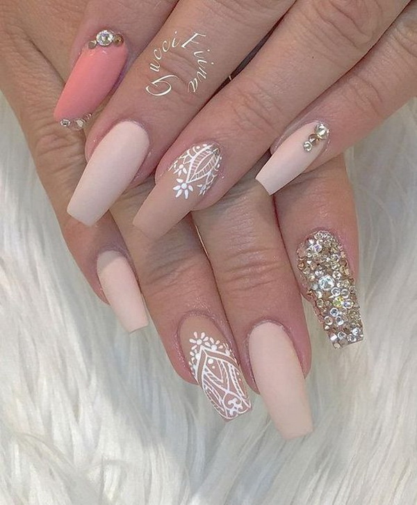 50 Beautiful Stylish And Trendy Nail Art Designs For: 60+ Stylish Nail Designs For 2017