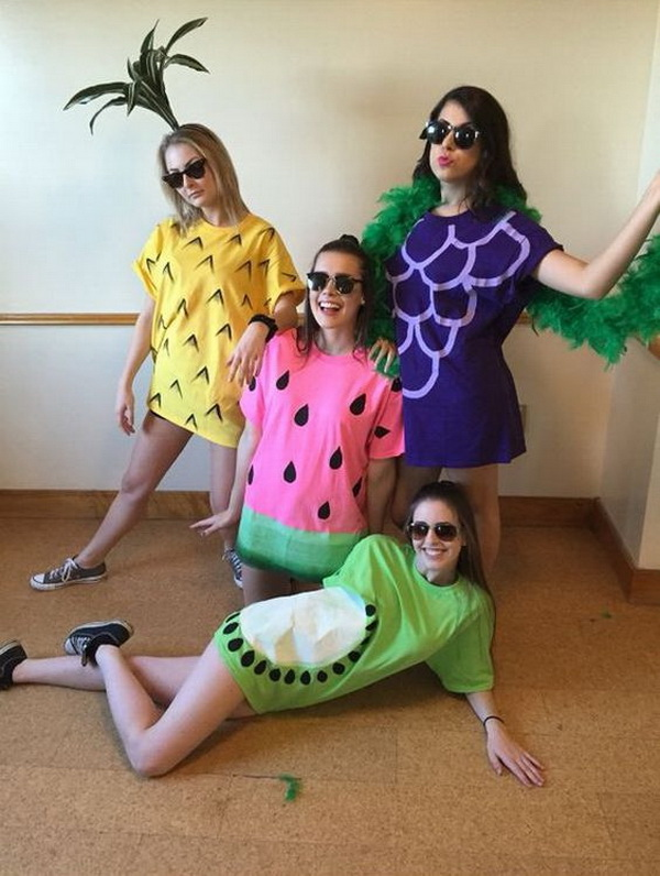 Fruit Costumes for Halloween.
