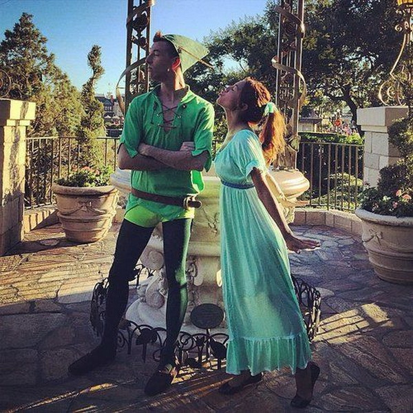 DIY Disney Couples Costumes. Stylish Couple Costumes for Halloween.