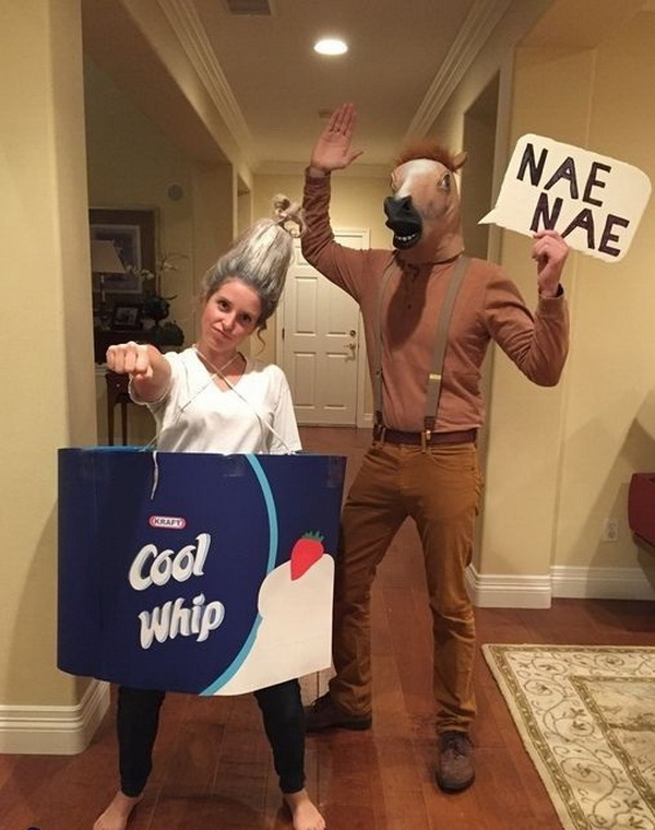 Whip and Nae Nae Costume. Stylish Couple Costumes for Halloween.