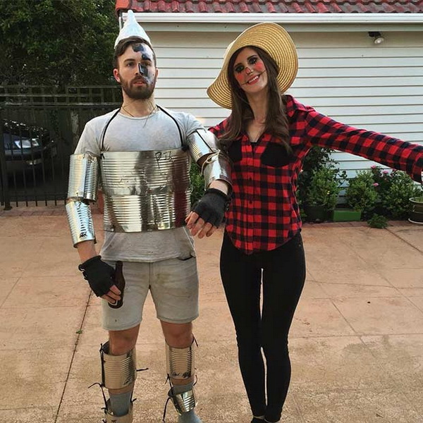 The Wizard Of OZ. Stylish Couple Costumes for Halloween.